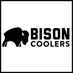 bison cooler logo